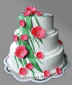 Торт Торт-Мне Свадебный №4 - фото 1