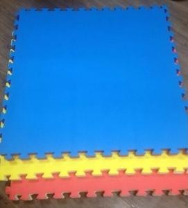 Спортмат Татами тренировочный односторонний «ласточкин хвост» 1000х1000х30 мм (Т1-НХ30) - фото 1