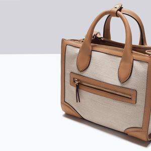 Сумка ZARA Тканевая сумка 4300/004 - фото 5
