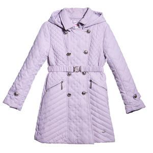 ComusL Пальто стеганное серое - фото 1