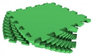 Спортмат Модульное EVA-покрытие для детских площадок 1000х1000х14 мм (30 Шор) - фото 1
