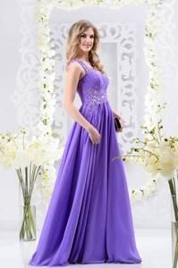 Viva Сиреневое платье 46 р. - фото 1