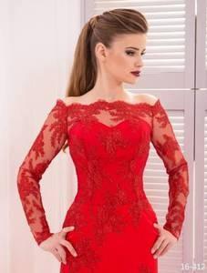 Viva Красное вечернее платье - фото 1