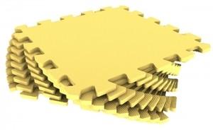 Спортмат Модульное EVA-покрытие для детских площадок 1000х1000х14 мм (30 Шор) - фото 8