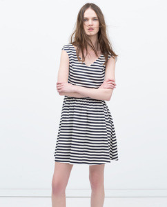 ZARA Платье с карманами - фото 1