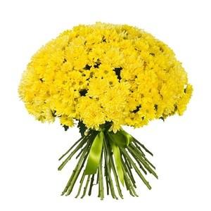 """Букетик 66 Охапка цветов """"Хризантемы"""" - фото 3"""