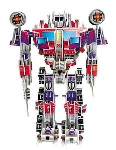 """Игрушка66 ТРАНСФОРМЕРЫ Объёмный 3D пазл """"Optimus Prime"""" - фото 1"""