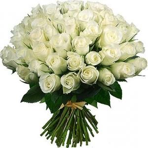 """Букетик 66 Букет из 51 розы """"Эвадор"""" - фото 1"""