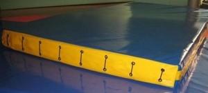 Спортмат Мат гимнастический 1000х2000х100 мм (22 кг/м3) - фото 3