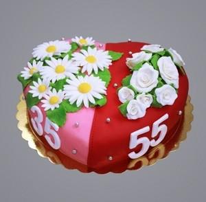 """Торт Торт-Мне Торт на заказ """"Юбилейный"""" - фото 1"""