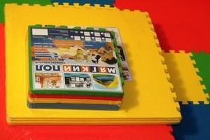 Игрушка66 Экополимеры Детский коврик-пазл «Бабочки» - фото 2