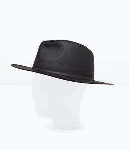 ZARA Шляпа широкополая из хлопка 3920/423 - фото 2