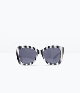 ZARA Солнцезащитные очки с правой в полоску 2727/005 - фото 3