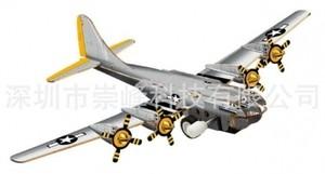 """Игрушка66 Объёмный подвижный 3D пазл """"Самолет"""" - фото 1"""