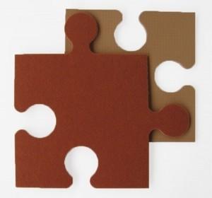 Игрушка66 Модульный мягкий пол с ковролином на ЭВА-основе - фото 5