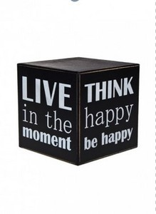 Красный Куб Украшение для интерьера настольное «Куб настроения» - фото 2