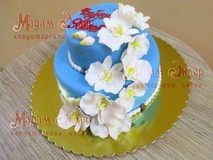 Торт Мадам Эклер Орхидеи - фото 1