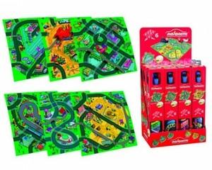 Игрушка66 Majorette Игровой коврик (машинка + дорожные знаки) - фото 1