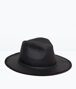 ZARA Шляпа широкополая из хлопка 3920/423 - фото 1