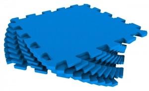 Спортмат Модульное EVA-покрытие для детских площадок 1000х1000х14 мм (30 Шор) - фото 6