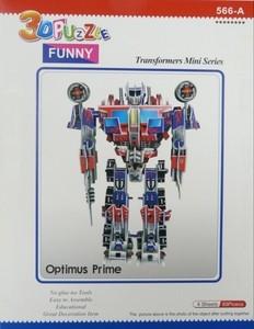 """Игрушка66 ТРАНСФОРМЕРЫ Объёмный 3D пазл """"Optimus Prime"""" - фото 6"""