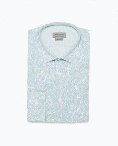 ZARA Рубашка с принтом - фото 6