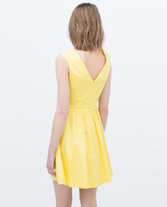 ZARA Платье с карманами - фото 14