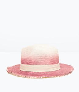 ZARA Шляпа с принтом Тай-Дай 4219/022 - фото 1