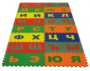 Игрушка66 Экополимеры Детский коврик-пазл «Русский Алфавит» - фото 1