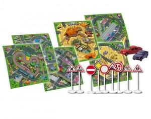 Игрушка66 Majorette Игровой коврик (машинка + дорожные знаки) - фото 2