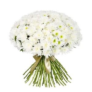 """Букетик 66 Охапка цветов """"Хризантемы"""" - фото 1"""