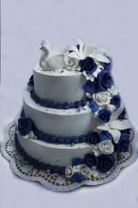 Торт Торт-Мне Свадебный № 2 - фото 1