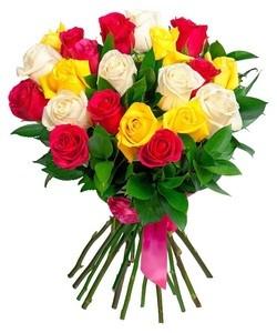 "Букетик 66 Букет из 25 роз ""Эквадор"" - фото 4"
