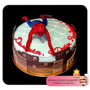 "Торт Французский кондитер Торт ""Человек-паук"" №3005 - фото 1"