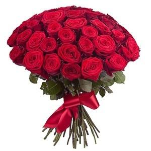 """Букетик 66 Букет из 51 розы """"Эвадор"""" - фото 4"""