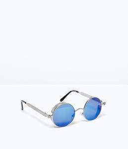 ZARA Зеркальные солнцезащитные очки - фото 1