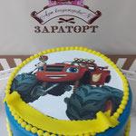 Торт Zara-торт Детский торт Авто - фото 1
