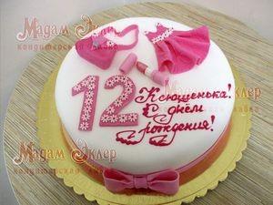 Торт Мадам Эклер Для доченьки - фото 1