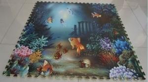 """Игрушка66 Экополимеры Детский коврик-пазл """"Океан"""" - фото 9"""
