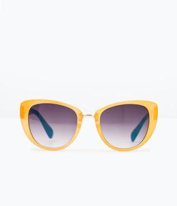 ZARA Очки солнцезащитные двухцветные 5875/006 - фото 1