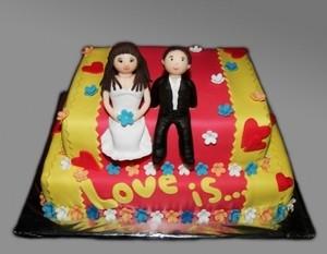 Торт Торт-Мне Свадебный №7 - фото 1