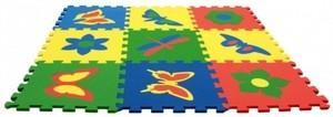 Игрушка66 Экополимеры Детский коврик-пазл «Бабочки» - фото 3