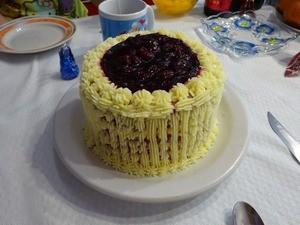 Торт Little Angel Cake Red Velvet (Красный бархат) - фото 1