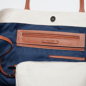 Сумка ZARA Тканевая сумка-шоппер 4442/004 - фото 4
