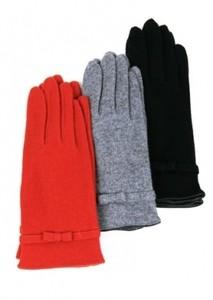 lapin66 Тонкие щерстяные вязаные перчатки - фото 1