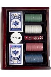 Красный Куб Игра настольная развлекательная «Покер в книге» - фото 3