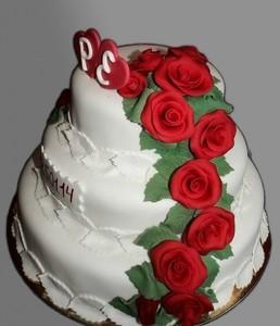 Торт Торт-Мне Свадебный №3 - фото 1