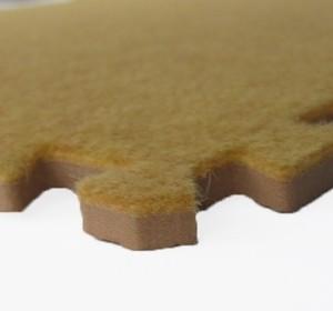 Игрушка66 Модульный мягкий пол с ковролином - фото 8