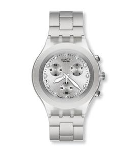 Swatch Часы FULL-BLOODED SILVER - фото 1