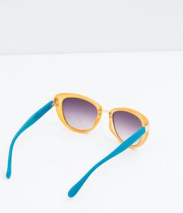ZARA Очки солнцезащитные двухцветные 5875/006 - фото 3